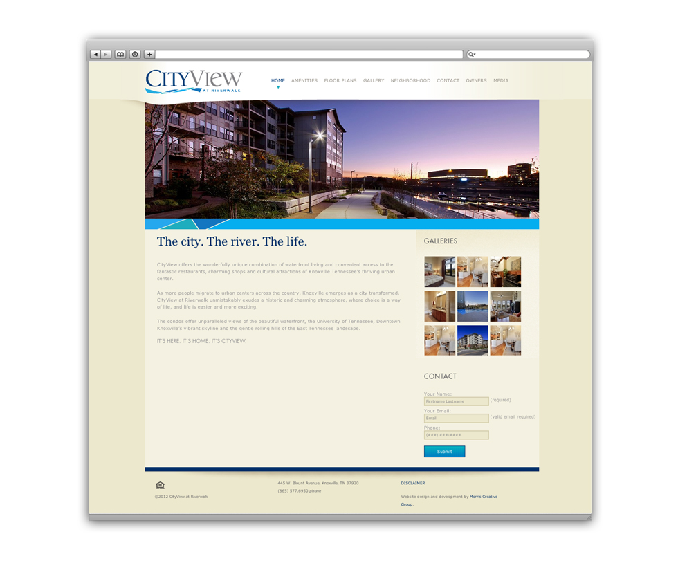 CityView web CityView at Riverwalk