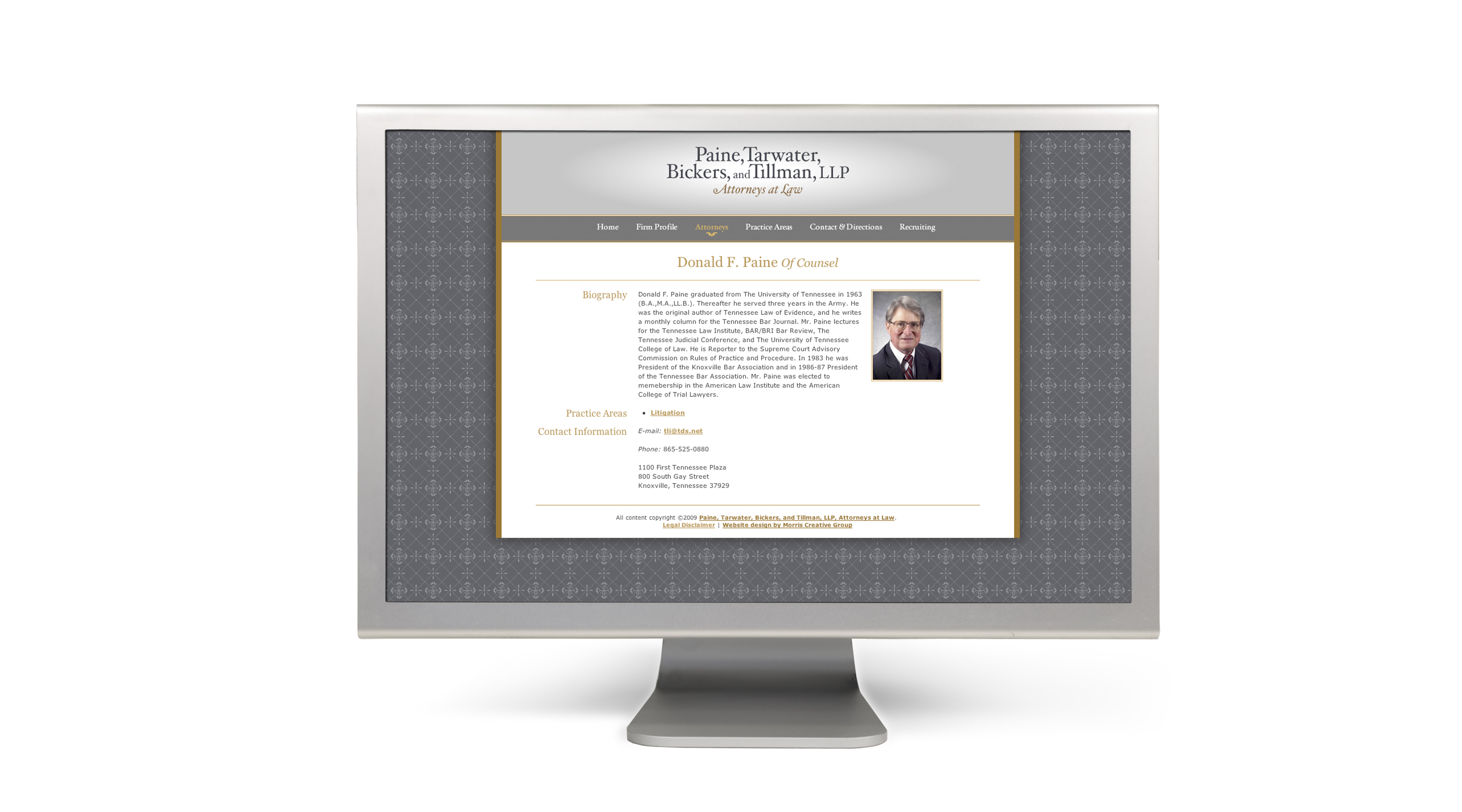 PTW web1 Paine, Tarwater, Bickers, and Tillman, LLP