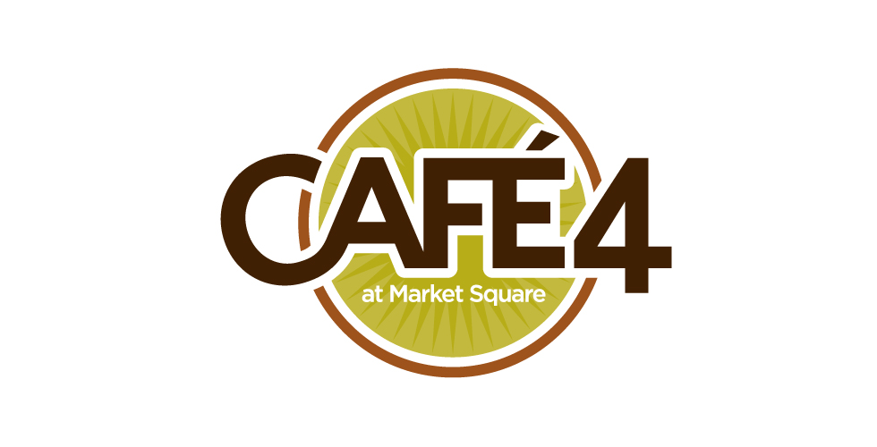 cafe4 logo Café 4 at Market Square
