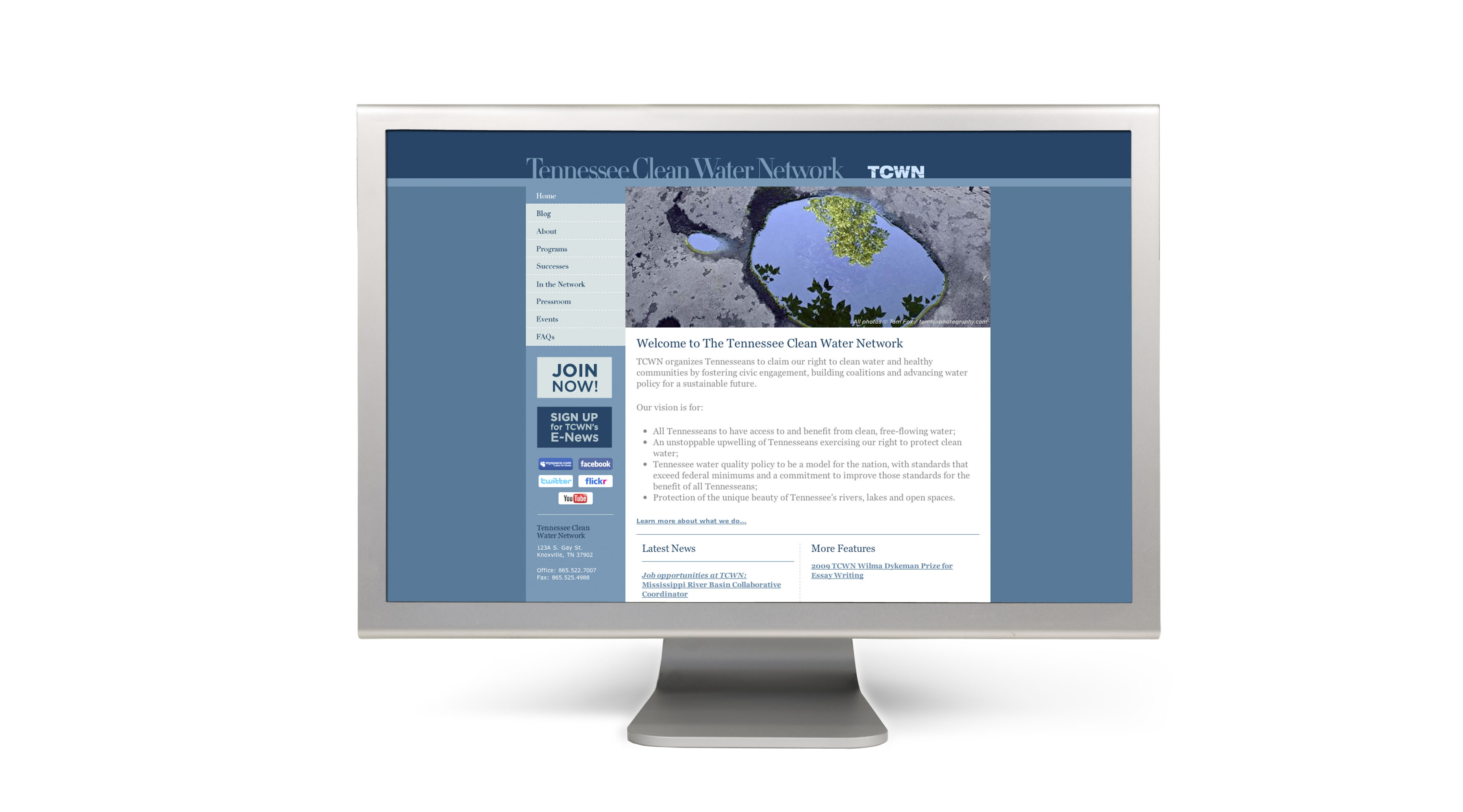 tcwn web The Tennessee Clean Water Network